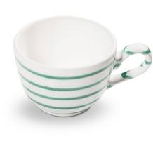 Gmundner Grüngeflammt, Kaffeetasse glatt (0,19L)