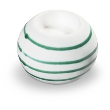 Gmundner Grüngeflammt, Kugel-Leuchter/ 1 Teelicht
