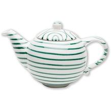 Gmundner Grüngeflammt, Teekanne glatt 0,5L
