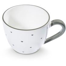 Gmundner Herzerl Grau, Teetasse Maxima (0,4L)