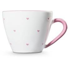Gmundner Herzerl Rosa, Kaffeetasse Gourmet (0,2L)