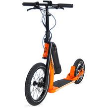 go!mate steap ER1 Elektro Tretroller orange