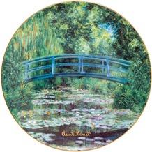 Goebel Artis Orbis Claude Monet Japanischer Garten - Wandteller