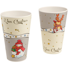 Goebel Becher I Love Christmas 13,0 cm