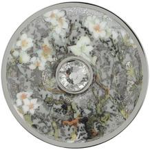 "Goebel Brosche Vincent v. Gogh - ""Mandelbaum silber"" 5 cm"