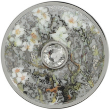 Goebel Brosche Vincent v. Gogh - Mandelbaum silber 5 cm