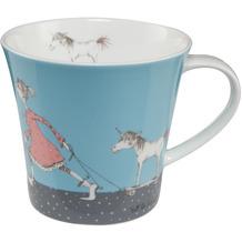 """Goebel Coffee-/Tea Mug Barbara Freundlieb - """"Die sind doch alle verrückt"""" 9,5 cm"""