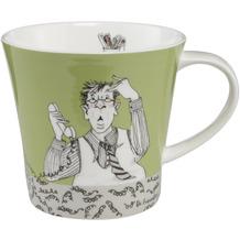 "Goebel Coffee-/Tea Mug Barbara Freundlieb - ""Montag hat angerufen"" 9,5 cm"