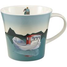 Goebel Coffee-/Tea Mug Fishing Boat 9,5 cm