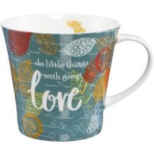"Goebel Coffee-/Tea Mug Elephant - ""Love"" 9,5 cm"