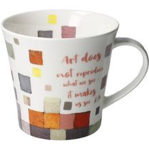 """Goebel Coffee-/Tea Mug Paul Klee - """"Aer does not..."""" 9,5 cm"""