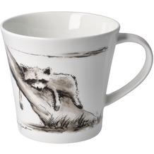 """Goebel Coffee-/Tea Mug Peter Schnellhardt - """"Kleines Nickerchen"""" 9,5 cm"""