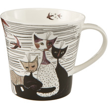 Goebel Coffee-/Tea Mug Rosina Wachtmeister - Carota con amici 9,5 cm