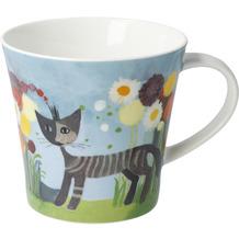 """Goebel Coffee-/Tea Mug Rosina Wachtmeister - """"Crisantemo"""" 9,5 cm"""