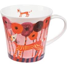 Goebel Coffee-/Tea Mug Rosina Wachtmeister - Fiori rossi 9,5 cm