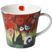 Goebel Coffee-/Tea Mug Rosina Wachtmeister - Innamorati tra i papaveri 9,5 cm