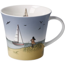 "Goebel Coffee-/Tea Mug Scandic Home - ""Ocean Love"" 9,5 cm"
