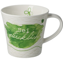Goebel Coffee-/Tea Mug Sei glücklich 9,5 cm