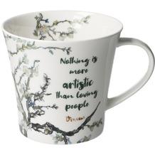 """Goebel Coffee-/Tea Mug Vincent v. Gogh - """"Nothing is more..."""" 9,5 cm"""