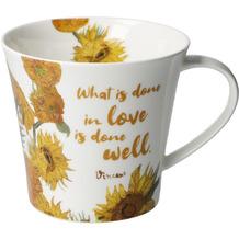 Goebel Coffee-/Tea Mug Vincent v. Gogh - What is done... 9,5 cm