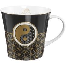 Goebel Coffee-/Tea Mug Yin Yang Schwarz 9,5 cm
