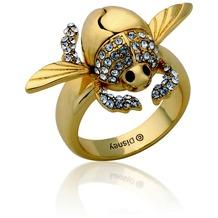 Couture Kingdom Ring Disney Aladdin Goldener Scarabäus D  1,65 cm