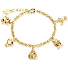 """Couture Kingdom Armband Disney Die Schöne und das Biest """"Charms"""" 19,0 cm"""