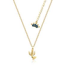 """Couture Kingdom Halskette Disney Die Schöne und das Biest """"Lumiére"""" 34,0 cm"""