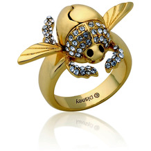 "Couture Kingdom Ring Disney Aladdin ""Goldener Scarabäus"" D  1,65 cm"