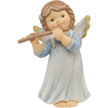Goebel Engel Fröhliches Flötenspiel 10,0 cm