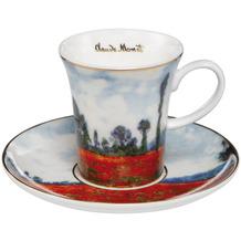 Goebel Espressotasse Claude Monet - Mohnfeld 7,5 cm