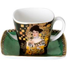 Goebel Espressotasse Gustav Klimt - Adele Bloch-Bauer 6,5 cm