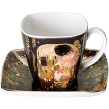 Goebel Espressotasse Gustav Klimt - Der Kuss 6,5 cm
