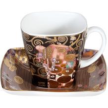 Goebel Espressotasse Gustav Klimt - Die Erfüllung 6,5 cm