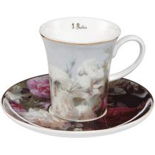 Goebel Espressotasse Jean Baptiste Robie - Stillleben mit Blumen 7,5 cm