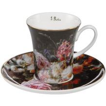 Goebel Espressotasse Jean Baptiste Robie - Stillleben mit Rosen 7,0 cm