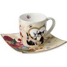 "Goebel Espressotasse Rosina Wachtmeister - ""Innamorato"" 6,5 cm"