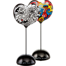 """Goebel Figur Billy The Artist - """"Two in One / Together"""" 29,0 cm"""