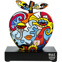 """Goebel Figur Billy the Artist - """"Together/Two in One"""" 28,0 cm"""