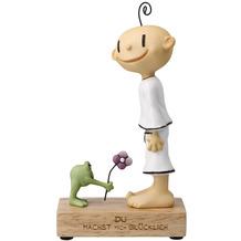 """Goebel Figur Der kleine Yogi - """"Du machst mich glücklich"""" 18,5 cm"""