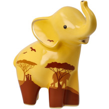 "Goebel Figur Elephant de luxe - ""Mukkoka"" 15,5 cm"