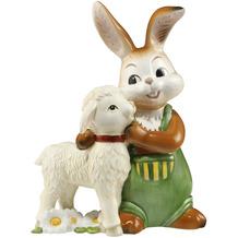 Goebel Figur Hase - Du bist aber kuschelig 13,0 cm