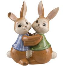 Goebel Figur Hasenpaar - Beste Hasenfreunde 14,5 cm