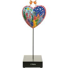 "Goebel Figur James Rizzi - ""It's Heart Not to Love My City"" 33,0 cm"
