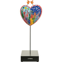 Goebel Figur James Rizzi - It`s Heart Not to Love My City 33,0 cm