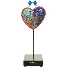 "Goebel Figur James Rizzi - ""Love in the Heart of City"" 27,5 cm"
