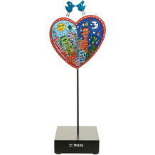 Goebel Figur James Rizzi - Love in the Heart of City 27,5 cm
