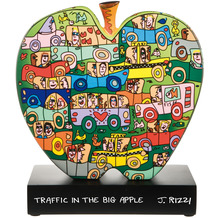 Goebel Figur James Rizzi - Traffic in the Big Apple 31,0 cm