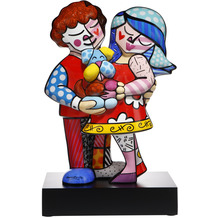 "Goebel Figur Romero Britto - ""Pet's Love"" 47,0 cm"