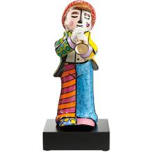 """Goebel Figur Romero Britto - """"Trompeter"""" 34,5 cm"""